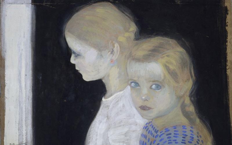 1912--Le-due-bambine