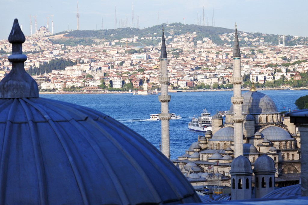View from Suleiman Mosque