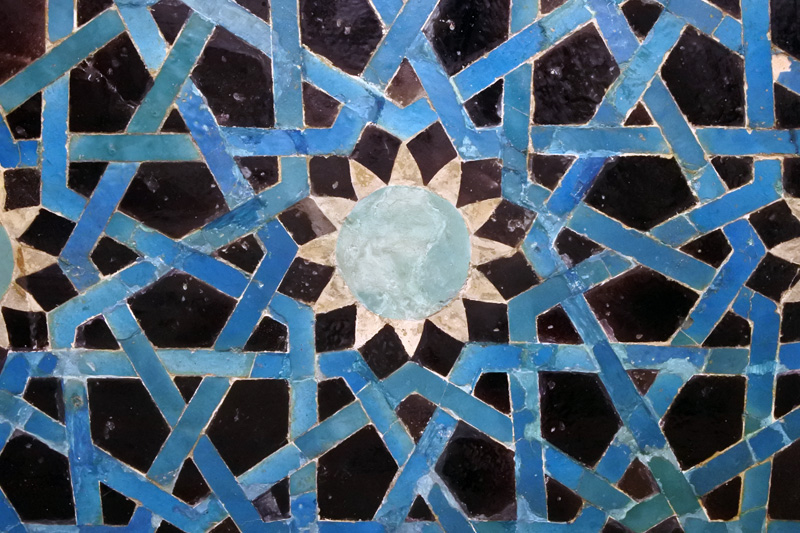 Tile Mosaic Panel - Art Islamic Museum