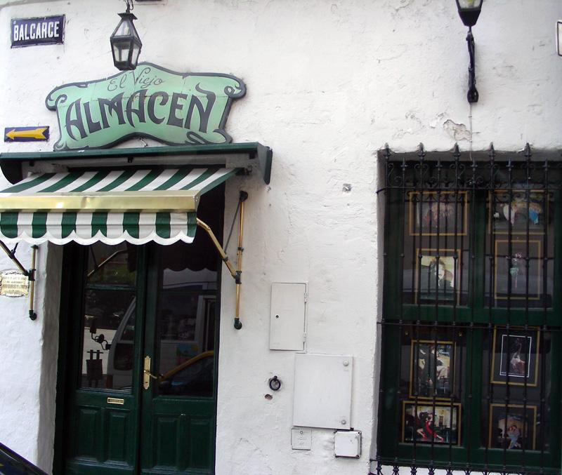 El Viejo Almacén - famous tangueria in  San Telmo