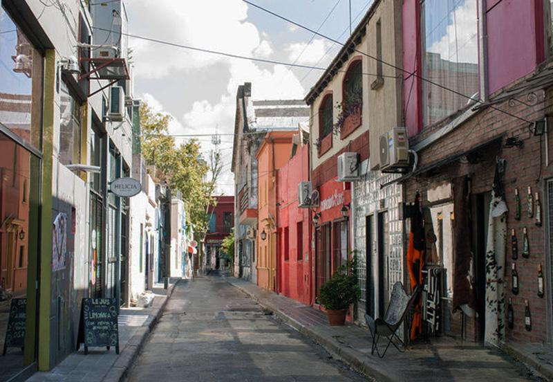 Palermo Viejo - Calle to Plaza Serrano
