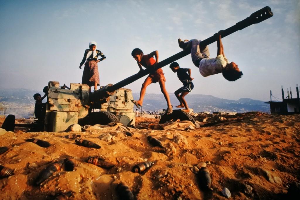 Beirut, Libano, 1982 ©Steve McCurry