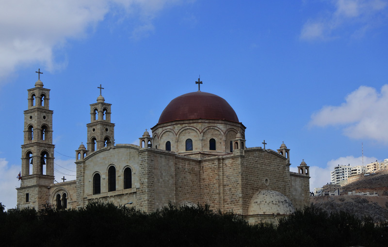 Eastern Orthodox Monastery -  Jacob well - edge of Nablus