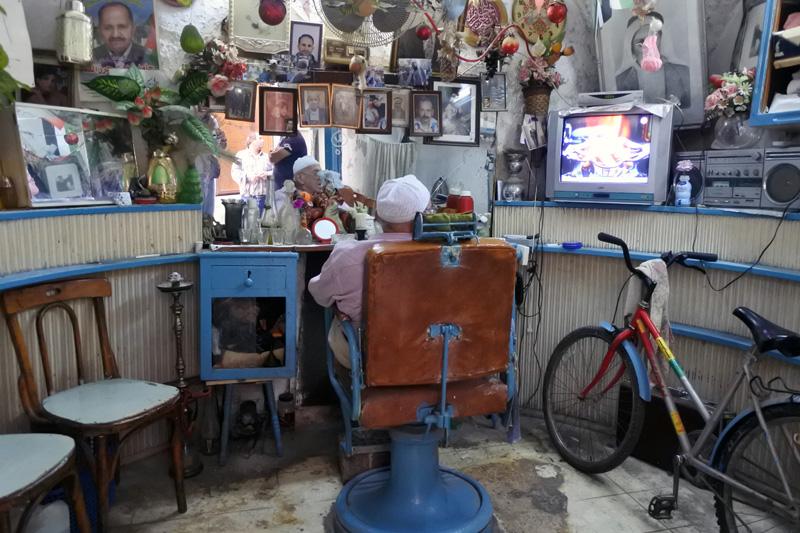 The oldest barber shop - Nablus Old City