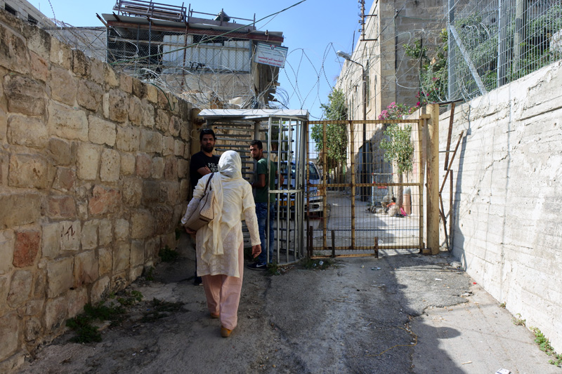 Hebron H1 - Palestinian side