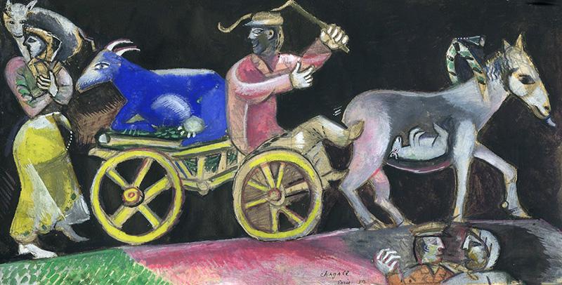 Studio per the cattle dealer - 1912 - Israel museum - Jerusalem