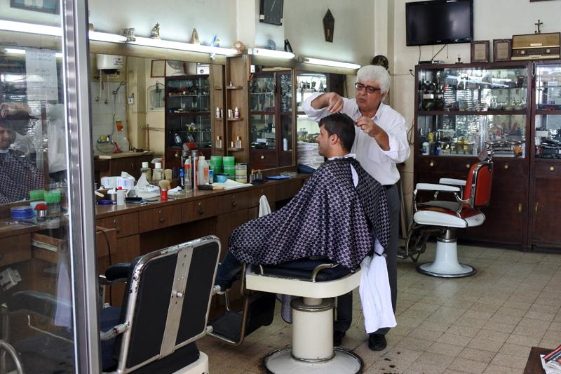 Modern barber shop - Ramallah
