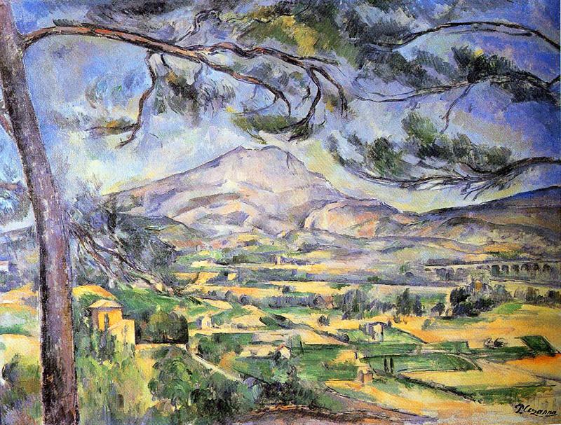 Mont Sainte Victoire - 1885-1887