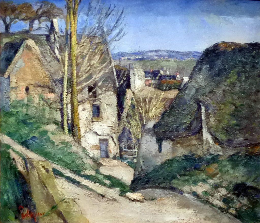 La Maison du pendu - Auvers sur Oise - 1873