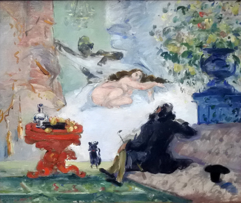 Une moderne Olympia - 1873-1874 - Hommage à Olympia di Manet
