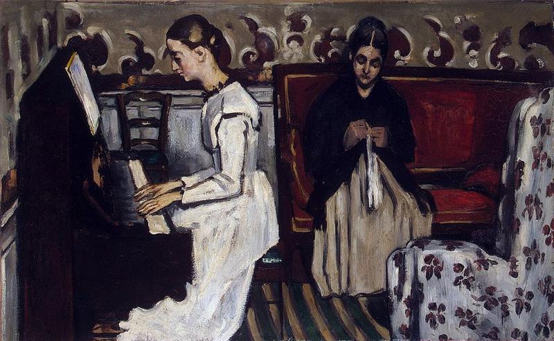 Ragazza al pianoforte - 1869 - Hommage a Richard Wagner